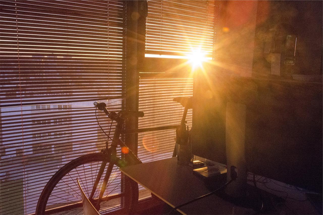 Zonnewering Overzicht Buiten Bike